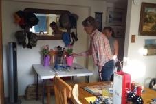 Installing Pat as Secretary.