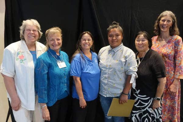 Honor Night 2018: Vergena Chee with Quota International of Santa Fe Members